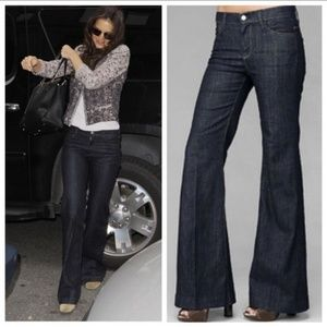 7 For All Mankind Ginger Jeans Flare Trouser